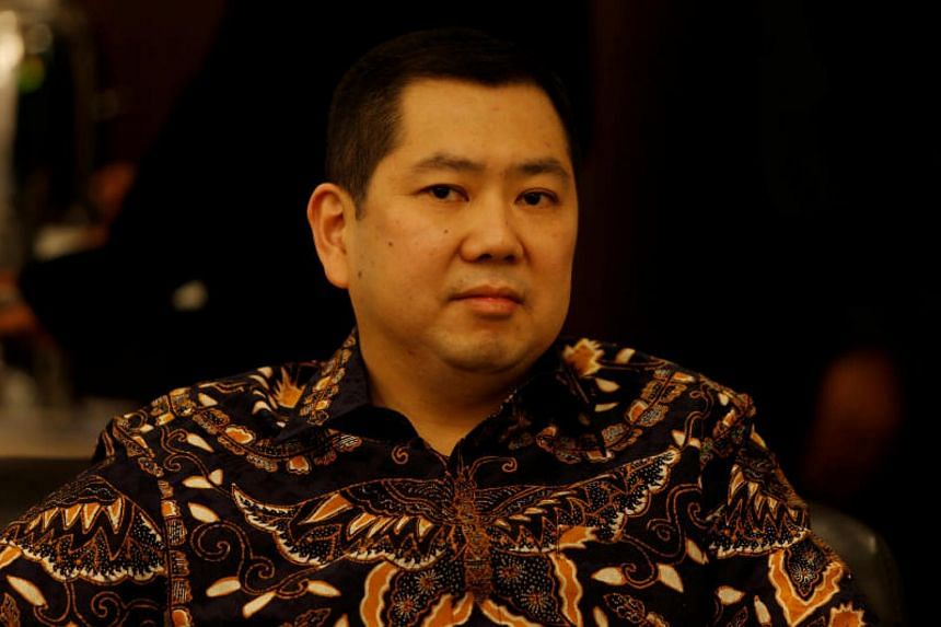 Hary Tanoesoedibjo was summoned as a suspect on Friday after an investigation was issued against him in June.
