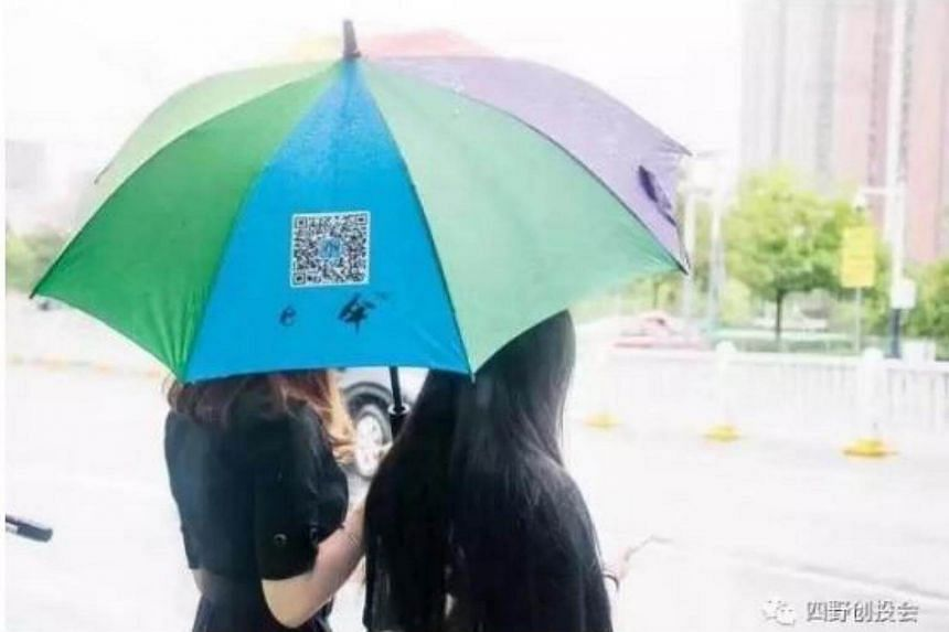 Sharing E Umbrella stated on its website that the cost of an umbrella is much lower than that of a shared car.