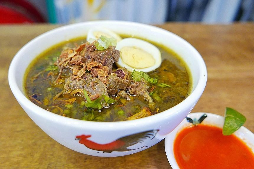 Soto madura at Tok Tok Indonesian Soup House
