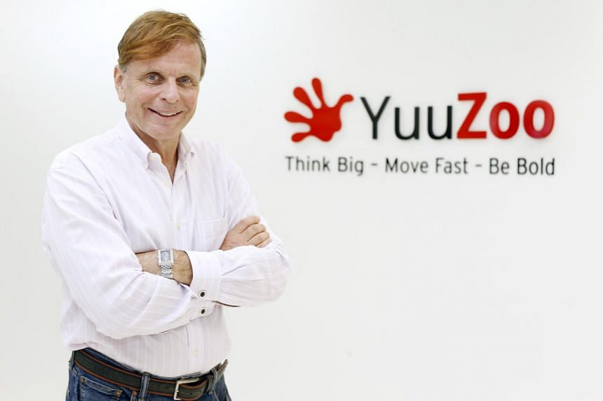 Thomas Zilliacus, co founder and executive chairman of YuuZoo poses for a photograph.