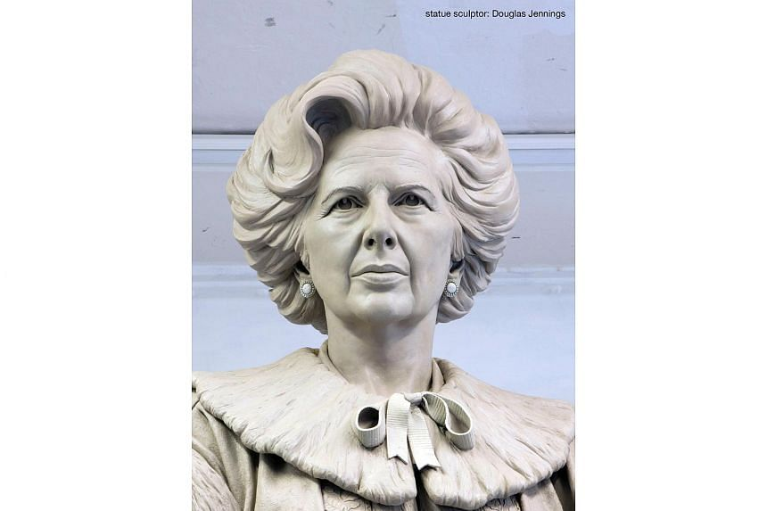 "The statue of ""Iron Lady"" Margaret Thatcher that may be put up on Parliament Square."