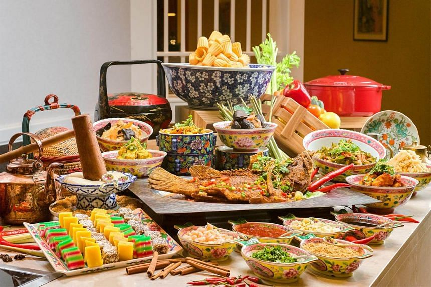 Experience a modern interpretation of Peranakan cuisine in our daily lunch, dinner and weekend high tea buffet spreads.