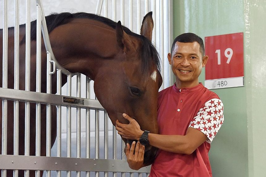 Former local jockey Saimee Jumaat, 45, is now a trainer after receiving his licence. He has about 20 horses under his charge.