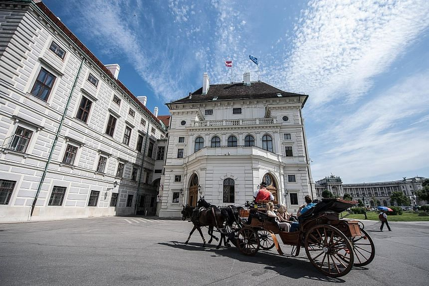 The Hofburg palace in Vienna. Unesco said a high-rise project under development will undermine the historic centre's value.