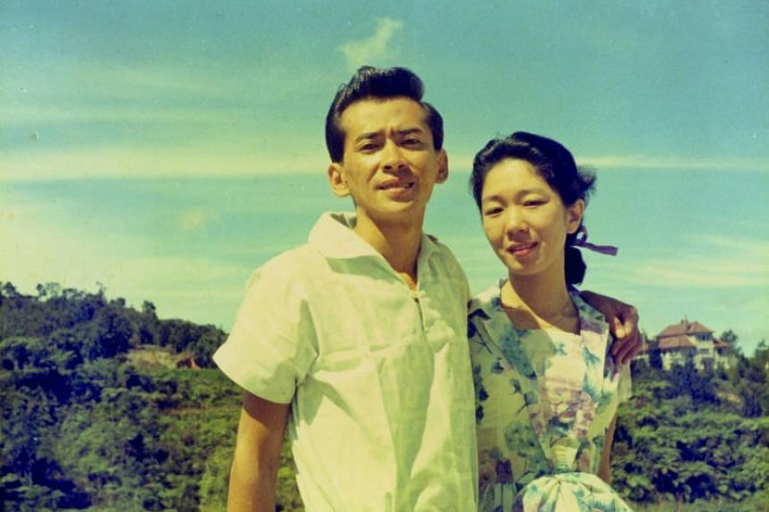 Sumiko Tan's parents on holiday in Cameron Highlands, sometime in 1962.