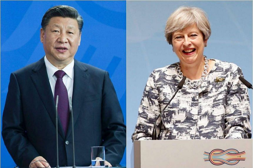 "China's President Xi Jinping told British Prime Minister Theresa May that bilateral relations should be cultivated on the basis of ""consolidating strategic mutual trust""."