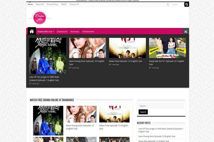 Pay-TV operator PCCW Media is taking steps to block streaming website Dramanice (pictured).