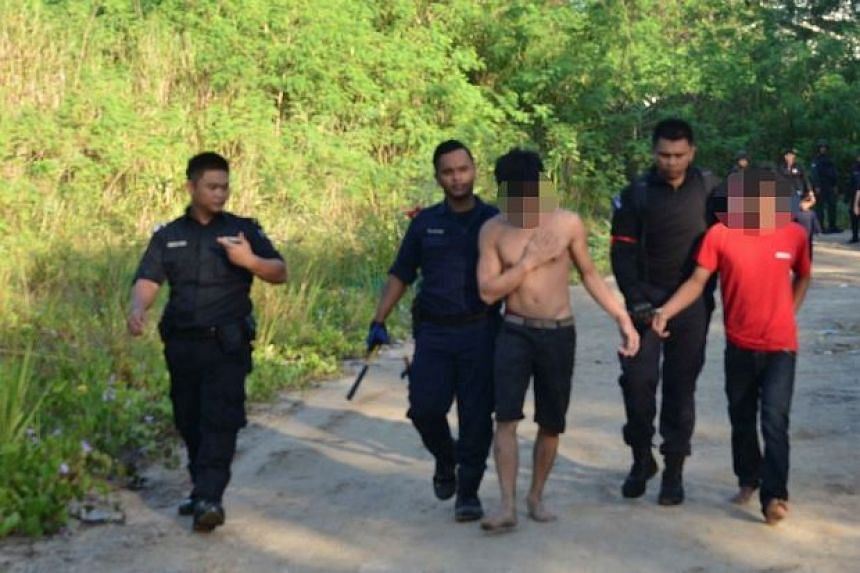 Malaysian authorities have detained 34 undocumented immigrants in Sabah.