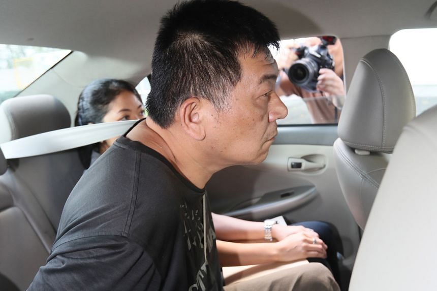 Taiwanese Huang Ying-Chun is said to be involved in a series of scams. His case is expected to be heard again on Friday. PHOTO: LIANHE WANBAO