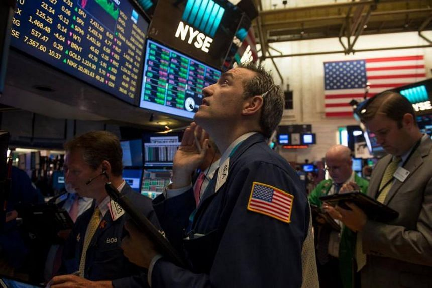 Seven of the 11 major S&P sectors were higher, with the healthcare index's 0.22 per cent fall leading the decliners.