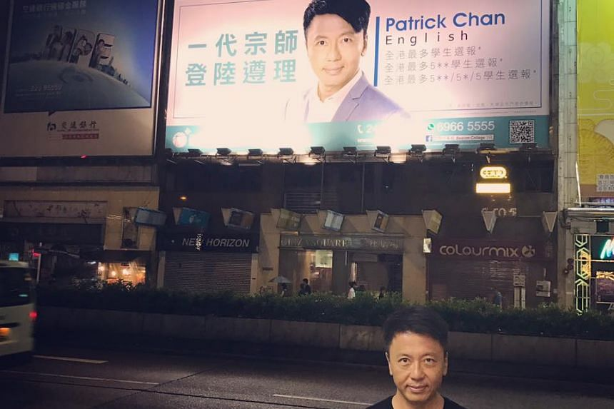 Patrick Chan left Modern Education tuition centre, where he worked for nearly two decades, for Beacon College.