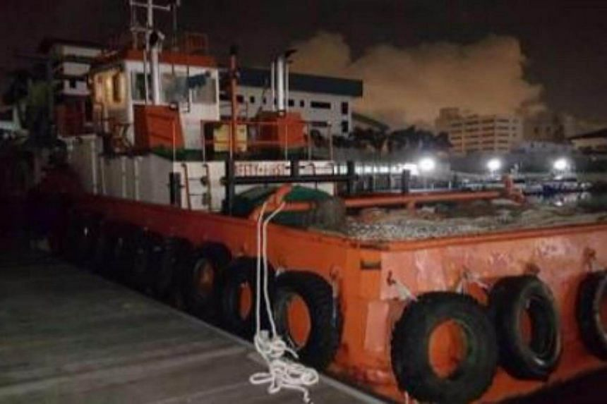 Police have arrested a total of 9 men due to an illegal transaction of four metric tonnes of marine gas oil.