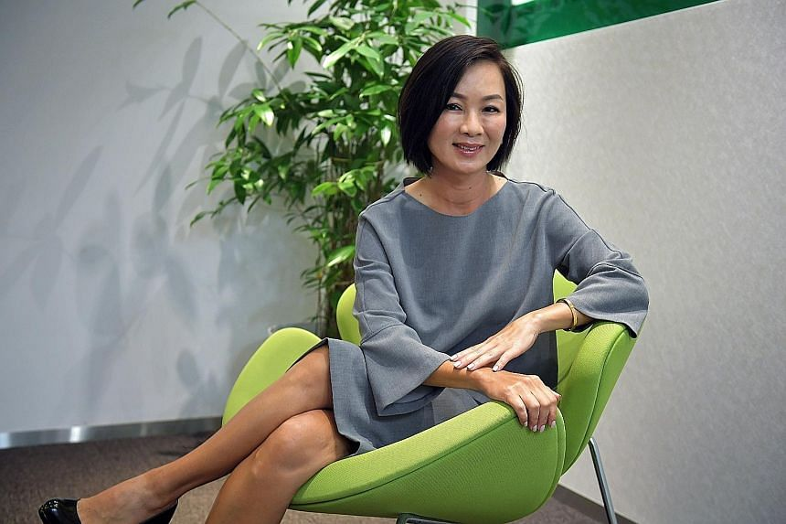 Ms Wendy Lim's career in the financial services industry started after she was shortlisted by Citibank in 1991 at a Singapore job fair in the United States. Since then, she has worked for AT&T, HSBC and ANZ, where she ran its retail bank operations i