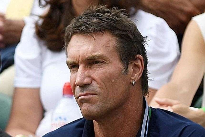 Pat Cash became Coco Vandeweghe's coach in the lead-up to Wimbledon and she has put up a sterling show so far.