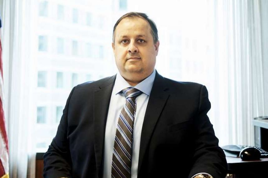 Walter Shaub, director of the Office of Government Ethics, in Washington, on May 22, 2017.