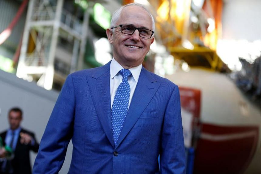 Australian leader Malcolm Turnbull's support as preferred prime minister fell 3 percentage points in a Newspoll published on July 10, 2017, in The Australian newspaper.