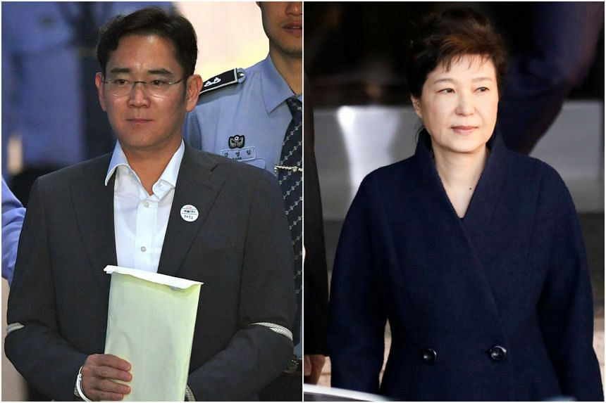 Samsung heir Lee Jae Yong has argued that testifying at the bribery trial of former President Park Geun Hye risked affecting his own corruption hearing.