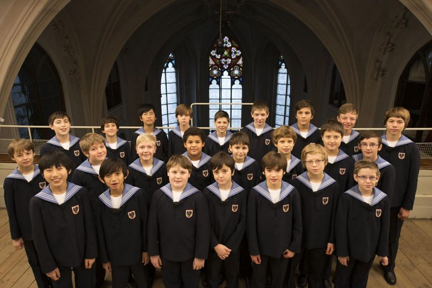 The Vienna Boys Choir's five-day stint in Singapore will be their longest yet.