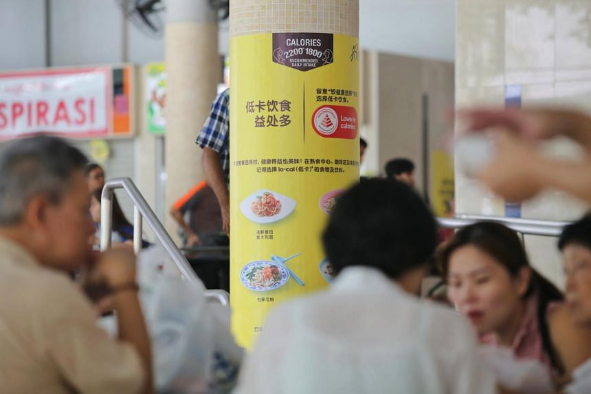 The move to identify healthier food in hawker centres is part of the Healthier Dining Programme.