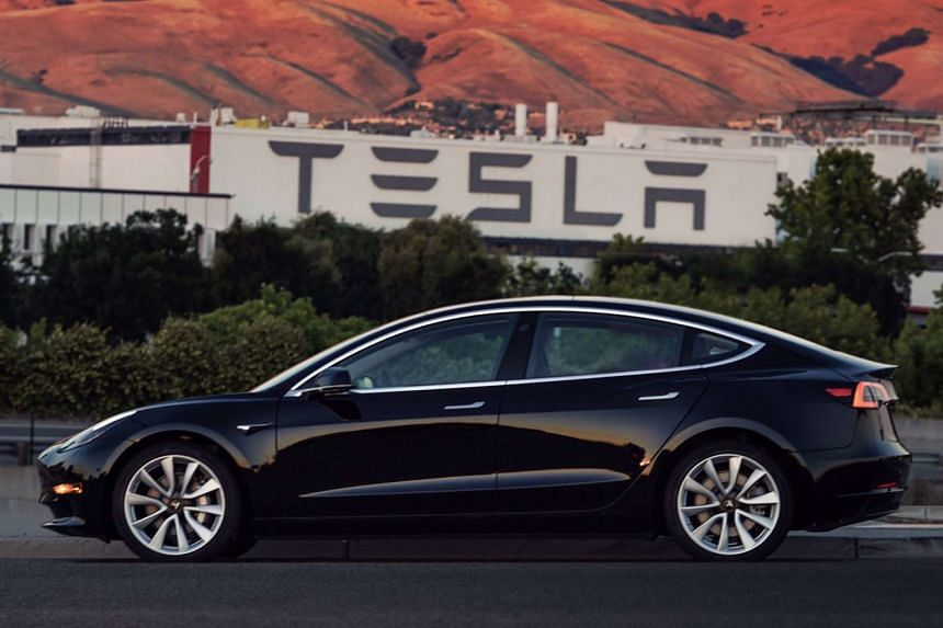 Tesla's Model 3 is aimed at the broader market and will reportedly have a price tag of US$35,000 (S$48,000).