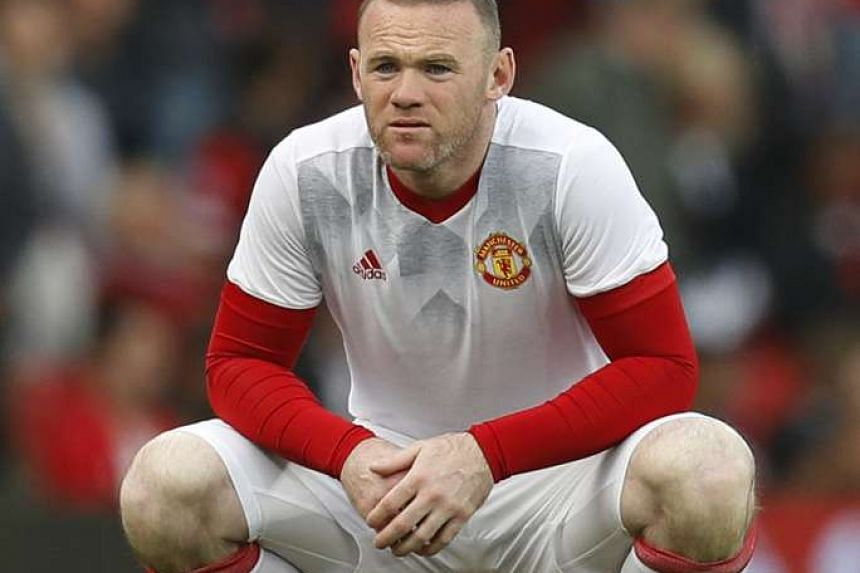 Manchester United's Wayne Rooney warms up before the UEFA Europa League Semi Final Second Leg at Old Trafford, Manchester, England on May 11, 2017.