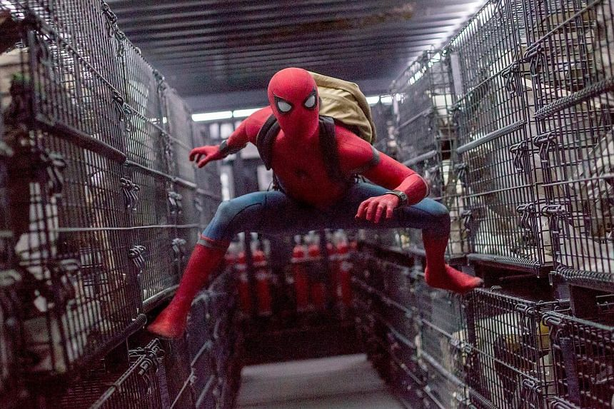 Spider-Man: Homecoming, starring Tom Holland, took in about US$117 million (S$161.7 million) in the United States and Canada over the weekend and another US$140 million overseas.