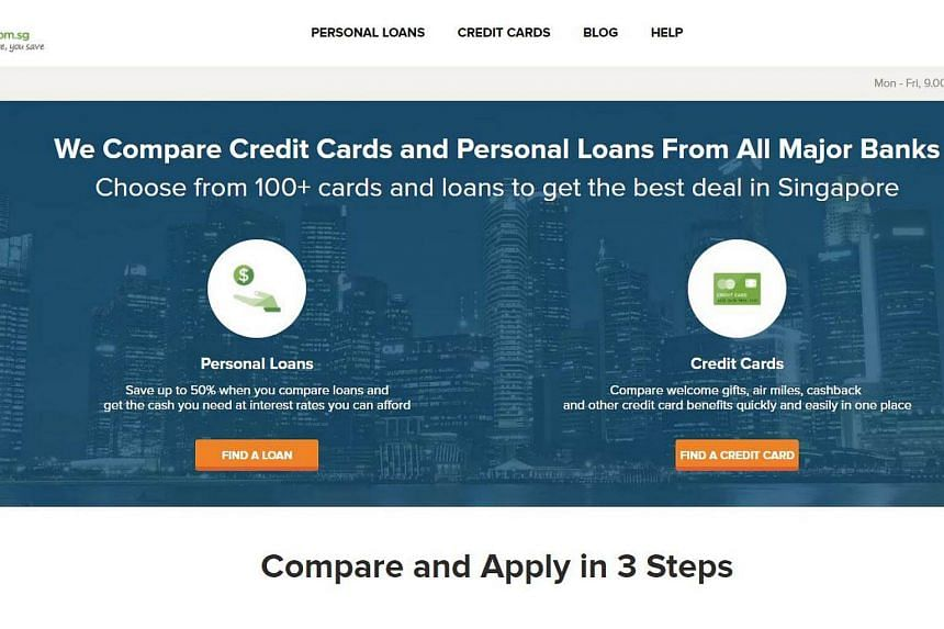 SingSaver.com.sg allows consumers to compare, select and apply for financial products on its platform.