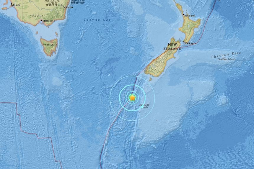 A magnitude 6.6 earthquake struck south of New Zealand on July 11, 2017.