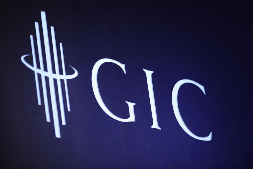 The logo of the Government of Singapore Investment Corp (GIC). x