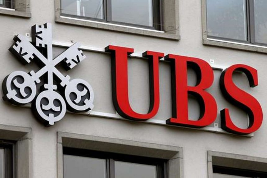 The company's logo is seen at a branch of Swiss bank UBS in Zurich, Switzerland, in this Feb 2, 2016 file photo.