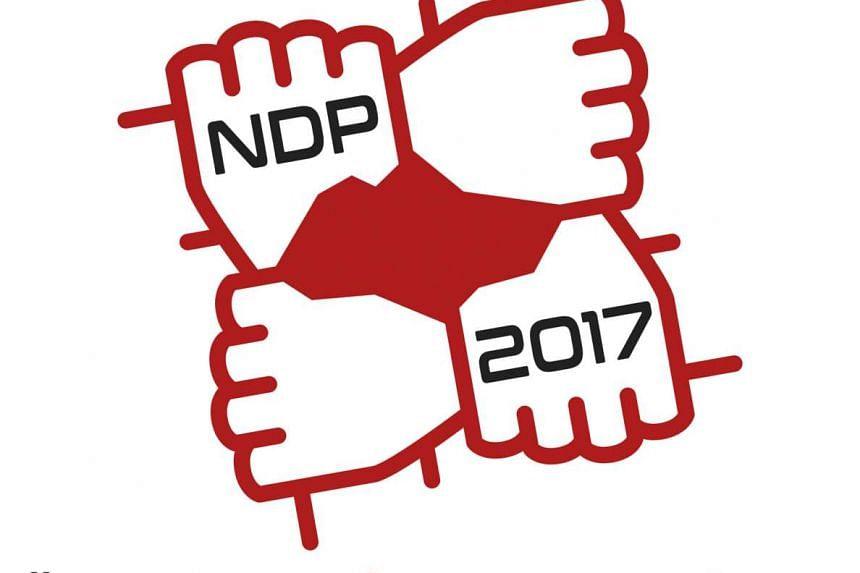 The National Day Parade 2017 logo.