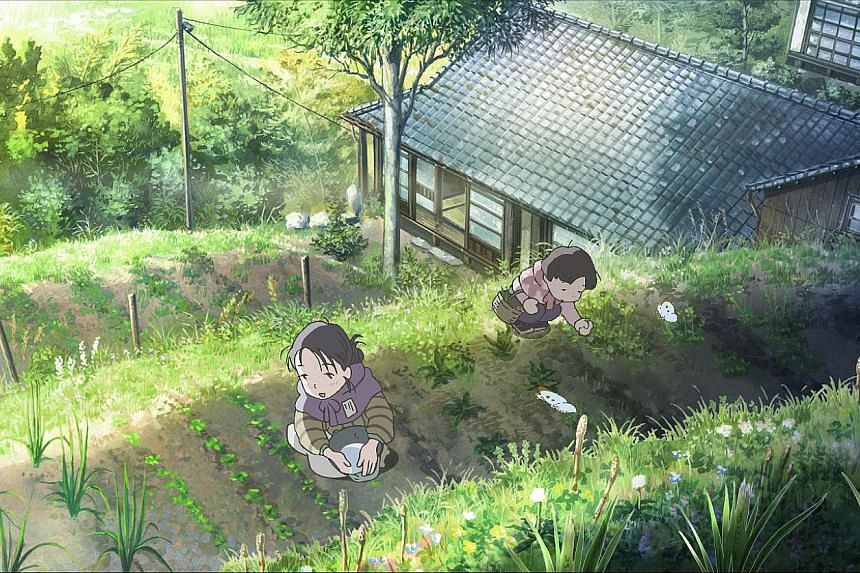 Film-maker Sunao Katabuchi co-wrote the script for In This Corner Of The World (above), about the life of an ordinary young woman, Suzu, in wartime Japan.