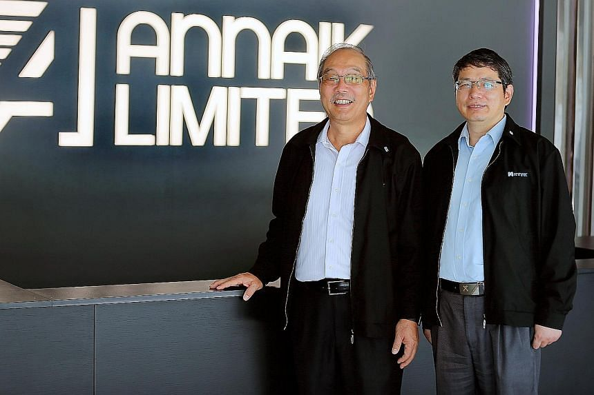 Pioneer co-founders James Ow Chin Seng (left) and Raymond Yang set up the business in 2010. It positions itself as a professional consultancy and service provider that not only supplies products, but also installs and manages full-scale water-reclama