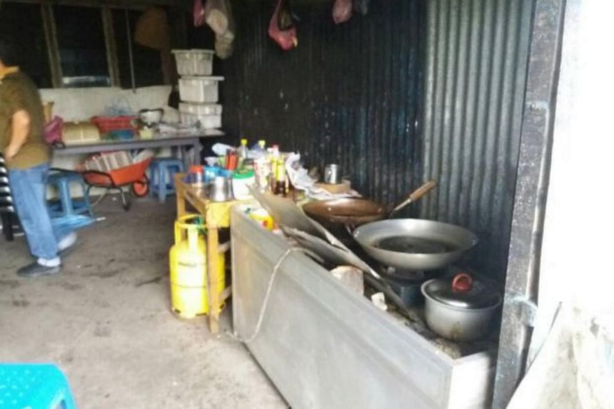 A 54-year-old man has been arrested for allegedly selling dog meat at his food stall in the town of Sibu, Sarawak.