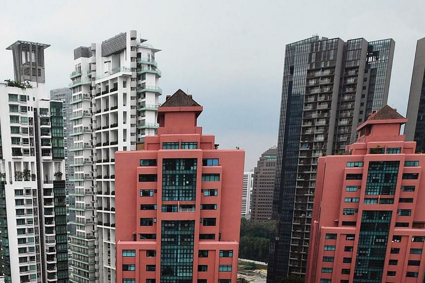 Rents of condominiums and apartments rose 0.5 per cent month-on-month in June.