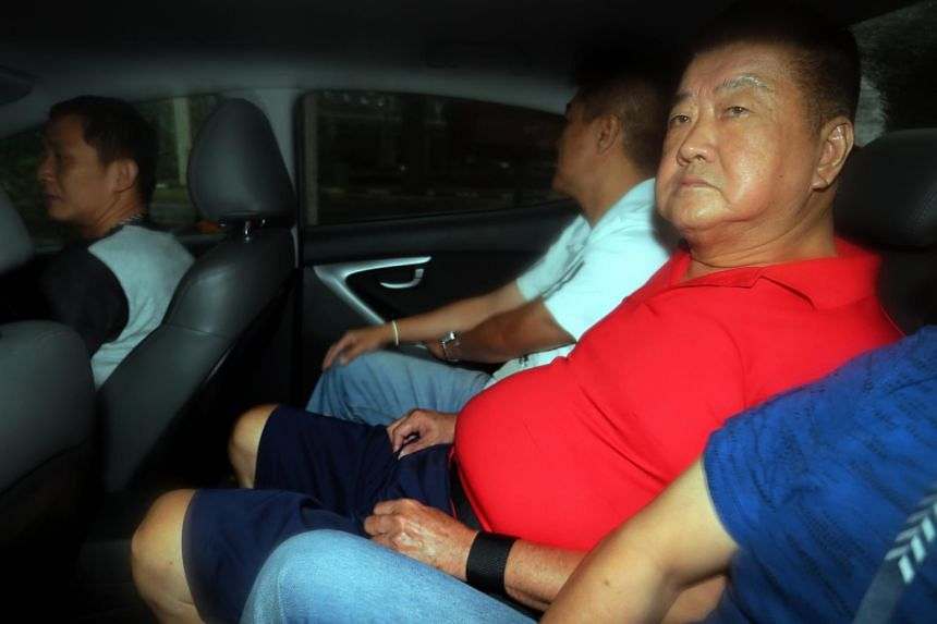 Tan Nam Seng was charged in court on Wednesday (July 12) with the murder that took place in Boon Tat Street near Robinson Road.