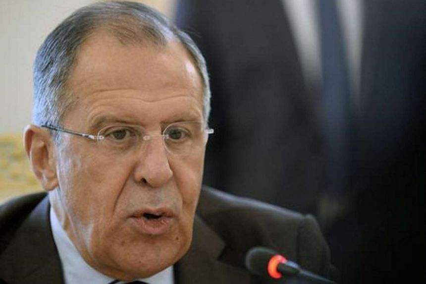 Russia's Foreign Minister Sergei Lavrov speaks in Moscow, on July 9, 2014.