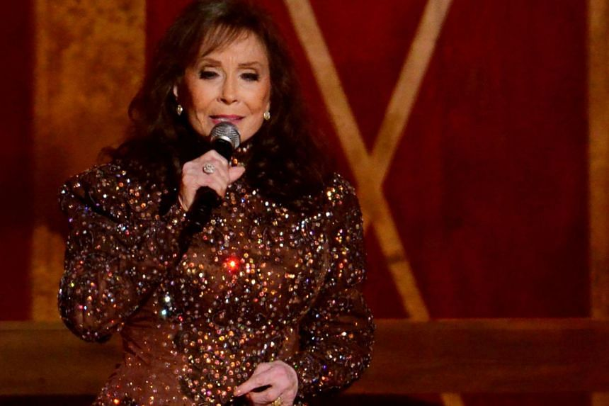 Musician Loretta Lynn performs during the 48th Country Music Association Awards in Nashville, Tennessee, on Nov 5, 2014.