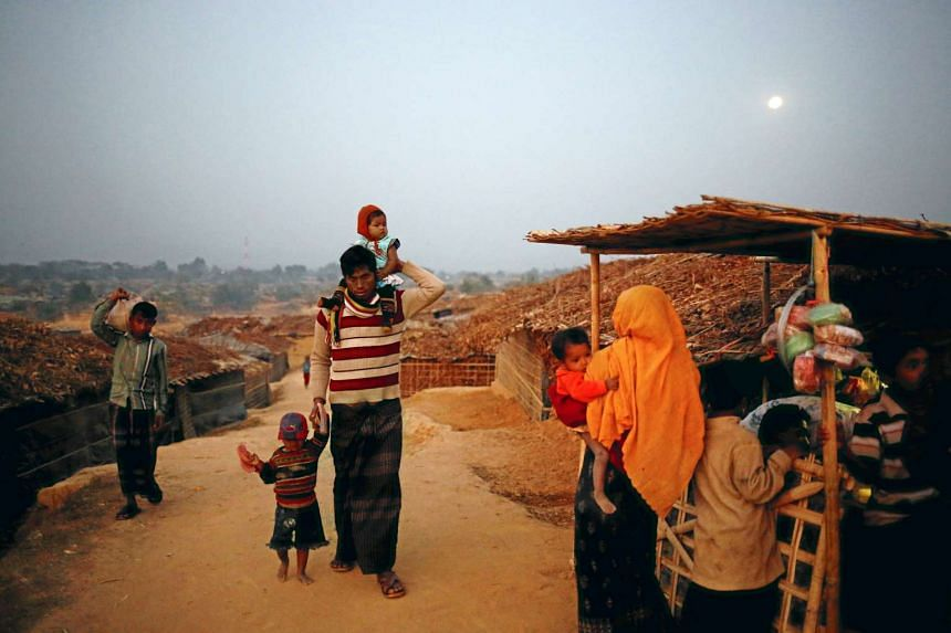 More than 75,000 Rohingya have fled north-western Rakhine state to Bangladesh over recent months, joining tens of thousands already there.