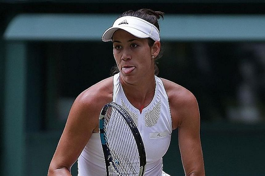 Garbine Muguruza conceded only two games as she thrashed unseeded Magdalena Rybarikova 6-1, 6-1 in just 64 minutes to reach the Wimbledon final where she will meet five-time champion Venus Williams. It will be the second Wimbledon final for the Spani