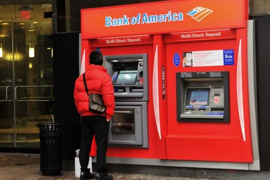 File photo of a Bank of America ATM.