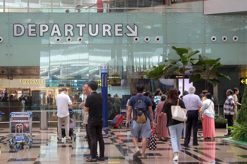 A 28-year-old man was arrested on July 2 for misusing his boarding pass at the transit area of Changi Airport on Friday, July 14 2017.