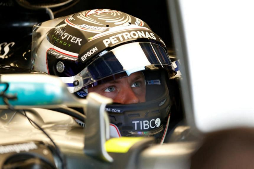 Valtteri Bottas clocked a best lap of 1min 29.942sec to outpace the three-time world champion by 0.078sec.