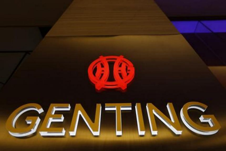 The logo of Genting Malaysia Berhad is seen at Genting Highlands at the state of Pahang outside Kuala Lumpur on Dec 17, 2013.