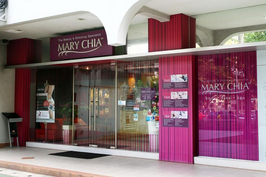 A Mary Chia centre in Singapore.