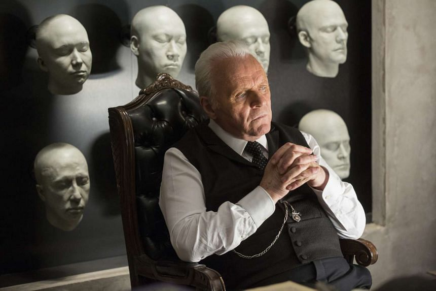 Anthony Hopkins stars in HBO drama Westworld. PHOTO: HBO ASIA