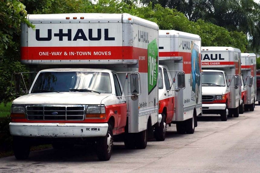 Staff at storage company U-Haul discovered the stinking bodies in the mother's locker after she fell behind on payments.