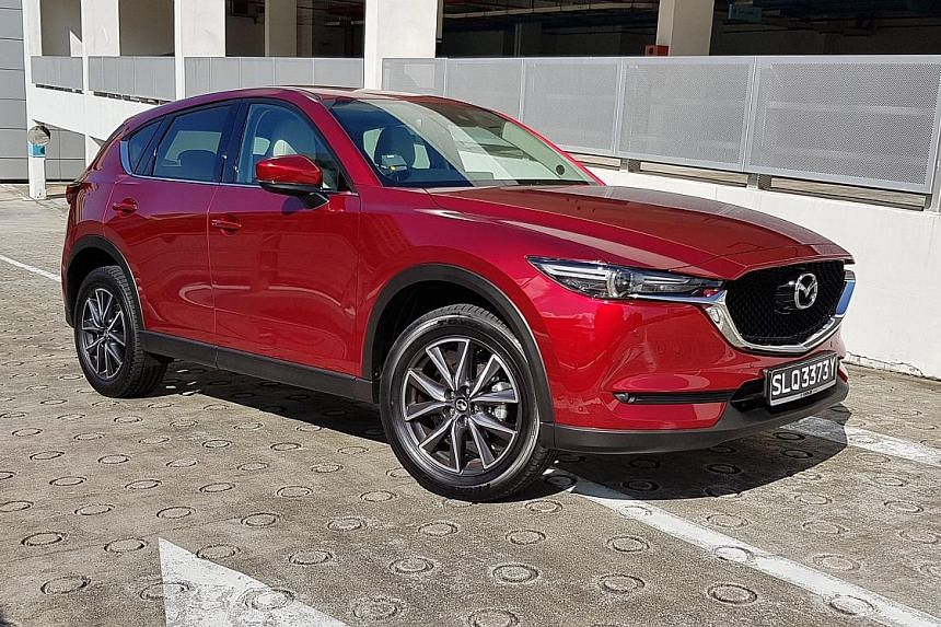 The Mazda CX-5 2.5 has a taut and well-tuned chassis, making it a joy to handle around bends.