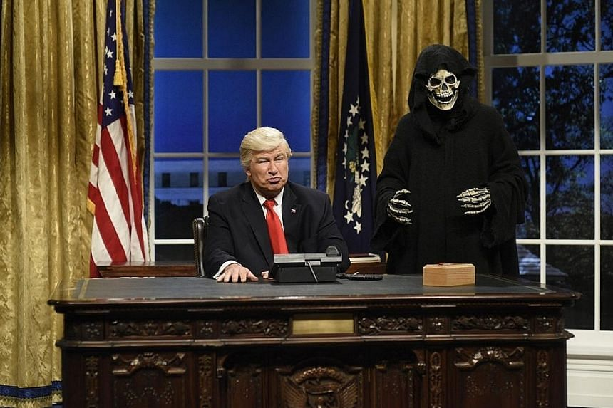Alec Baldwin was nominated for the Emmys for his portrayal of United States President Donald Trump on Saturday Night Live.
