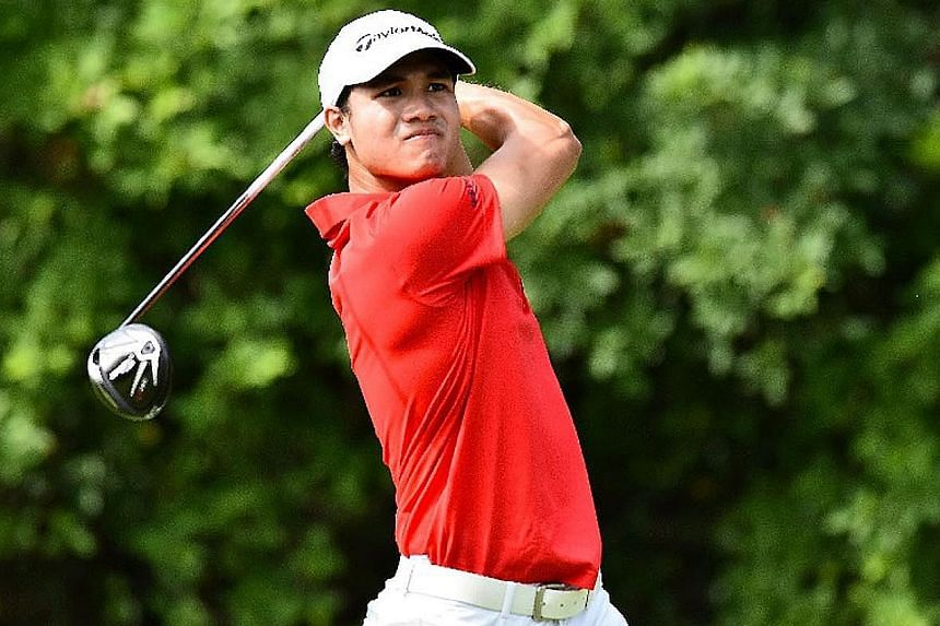 Gregory Foo's Singapore Open Amateur Championship win comes with a coveted spot at next year's SMBC's Singapore Open.